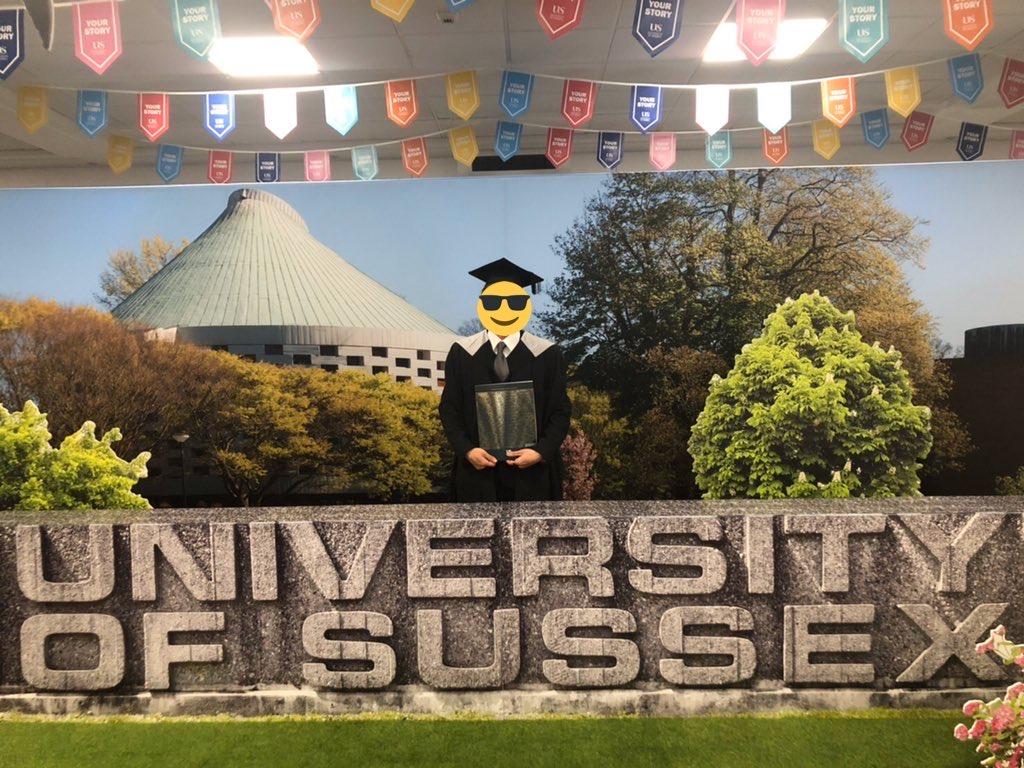 イギリス サセックス大学 卒業式