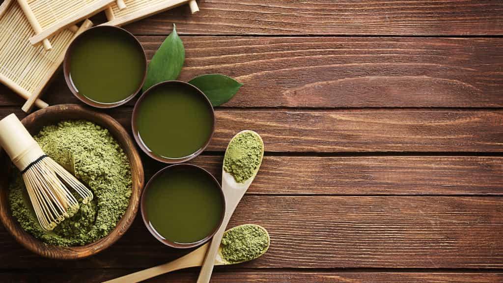 おすすめの飲み物:①お茶