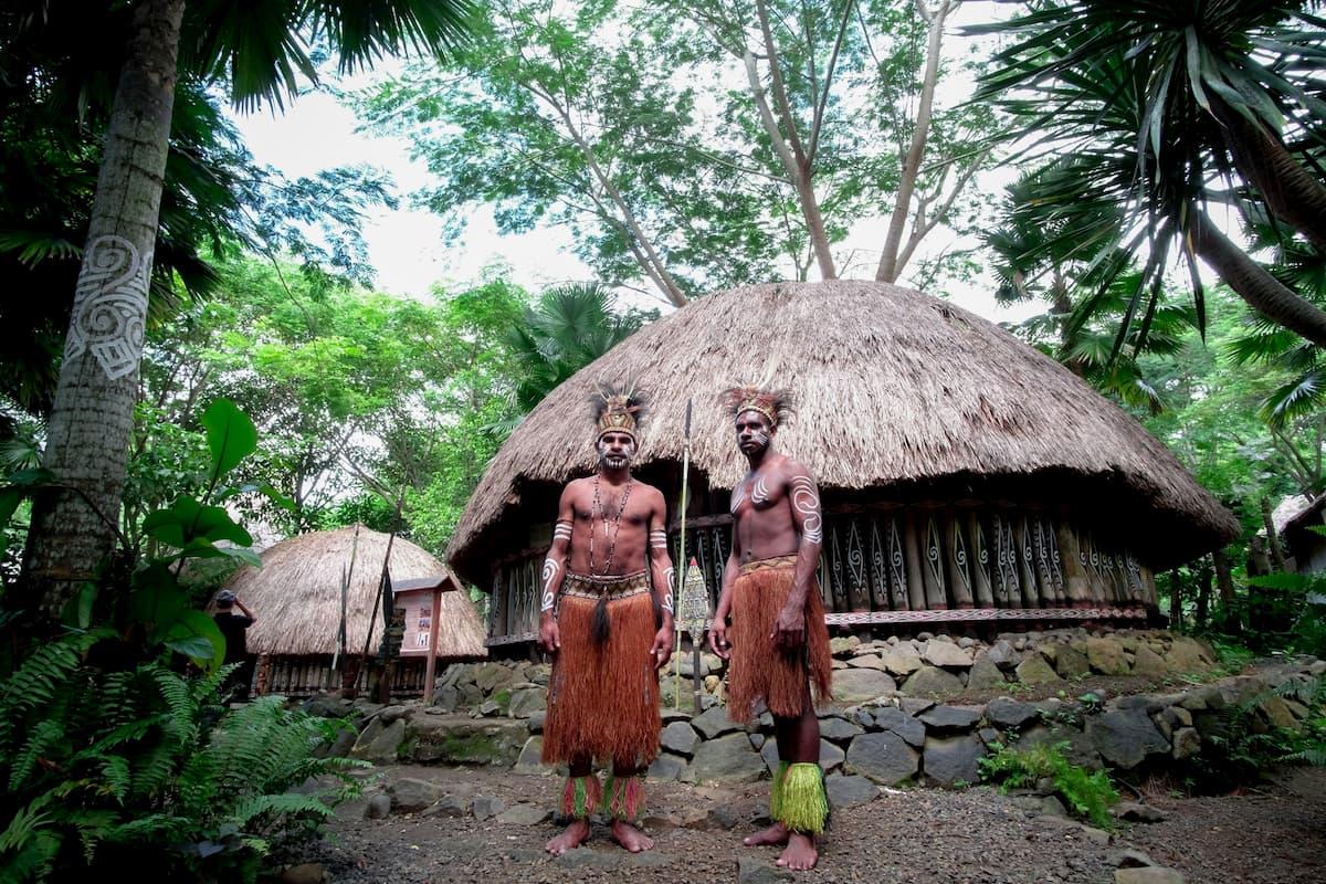 狩猟採集民族の写真