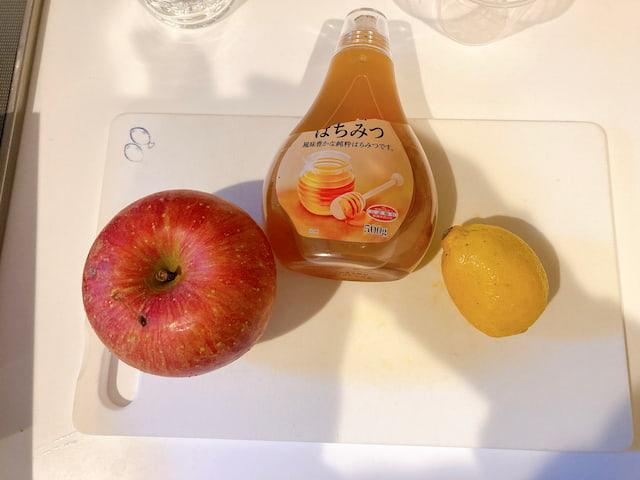 実践調理④:リンゴコンポート
