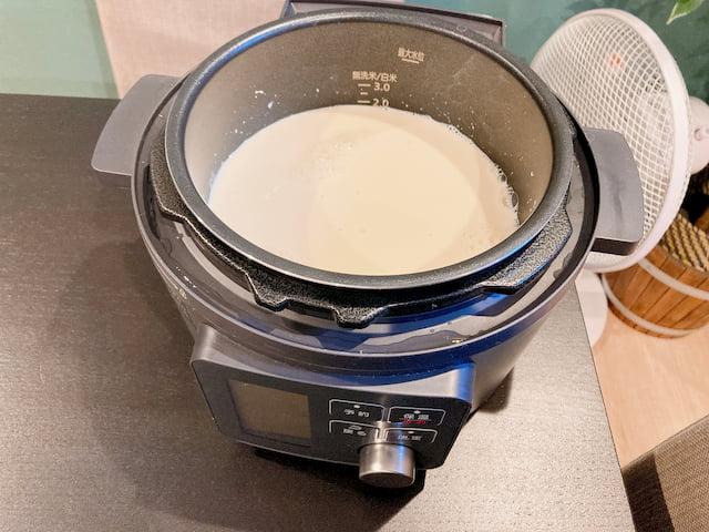実践調理③:豆乳ヨーグルト