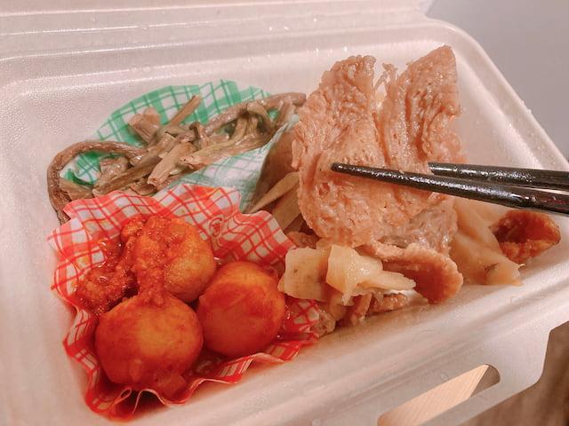 新メニュー④: 大豆ミートのしぐれ煮のアップ