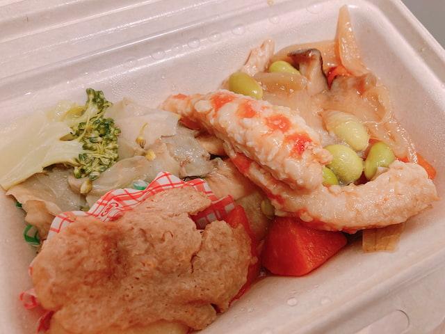 新メニュー⑥: 海老と野菜のチリソース