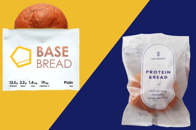 PROTEIN BREADとベースブレッドはどっちが良い?