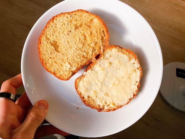 お手軽アレンジ⑤: デザートチーズブレッド