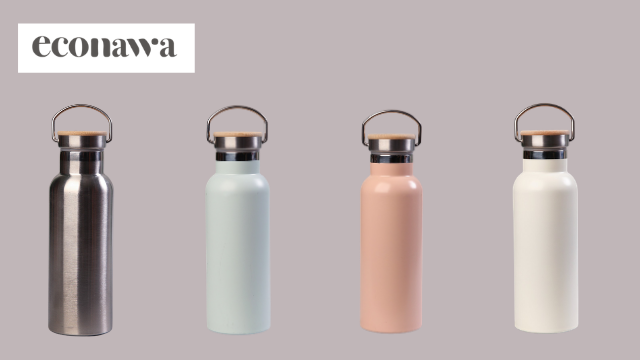 econawaステンレスボトルの色