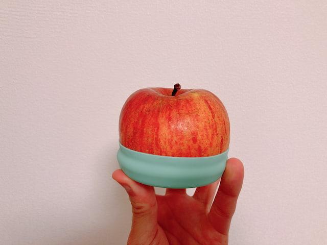 リンゴとeconawaのフードカバー