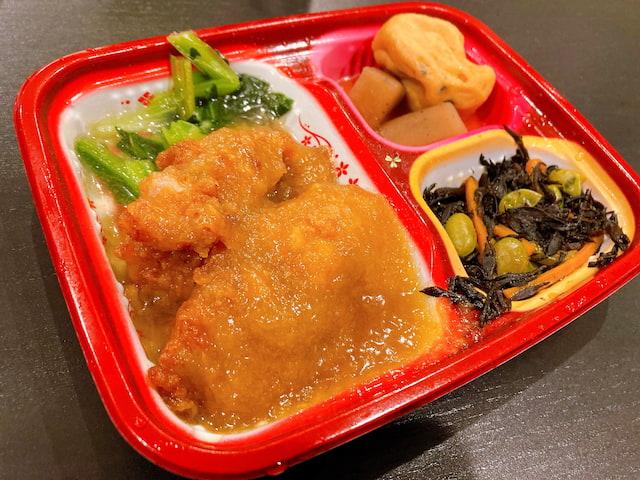 ワタミの宅食ダイレクトの鶏肉のおろしソース