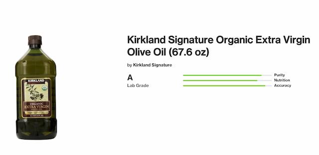 KIRKLAND(カークランド) オーガニックエクストラバージンオリーブオイル