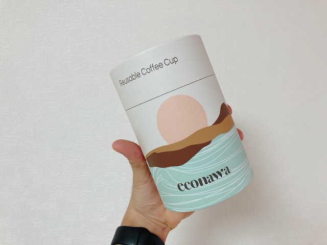 econawaコーヒーカップの箱
