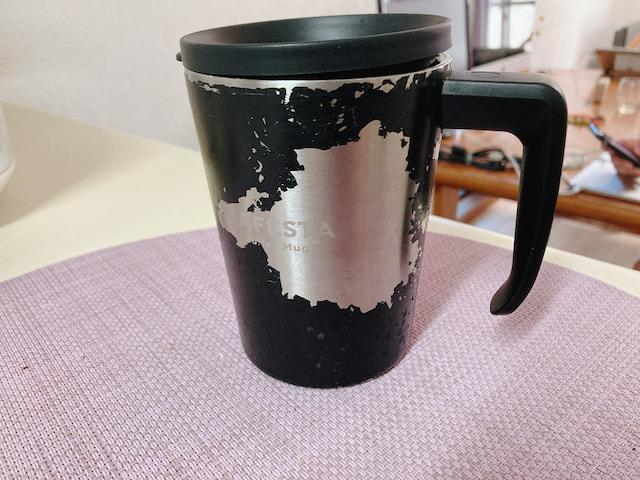 ニトリのコーヒーカップ