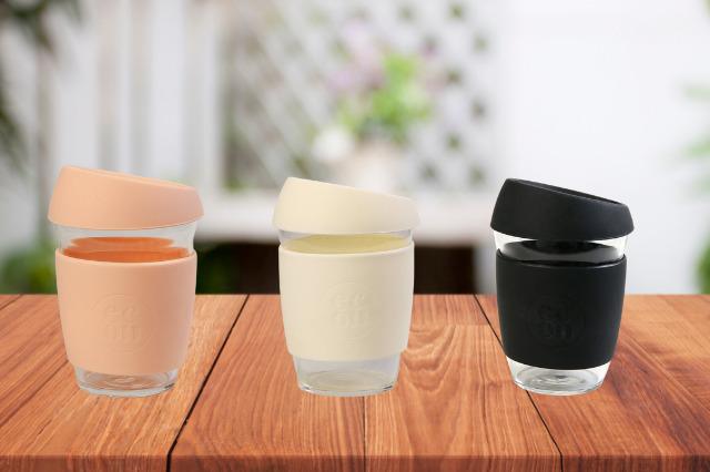 econawaコーヒーカップ三色